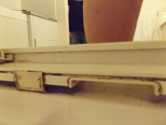 Filth under the screen door runner (Sliding doors missing ...
