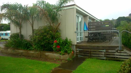 Waihi, Nya Zeeland: Our lovely one-room cabin at a great price