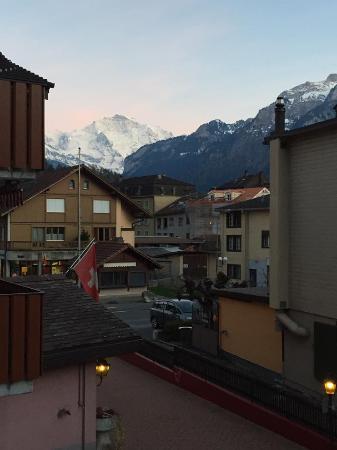 Oberried, Schweiz: View from room's balcony.
