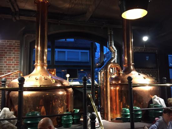 Leinfelden-Echterdingen, Jerman: macchinario per birra