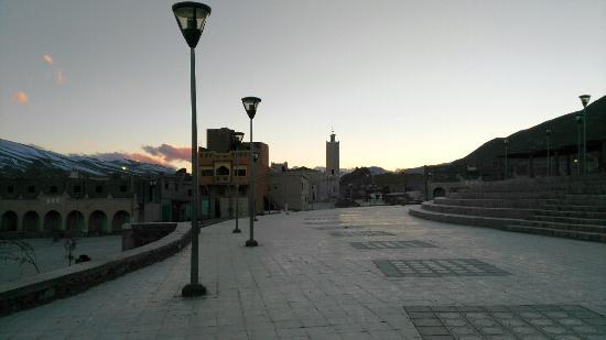 Hotel Izlane: Vista de Imilchil