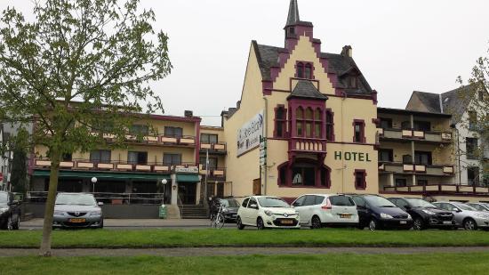 Hotel Erica in Treis-Karden met direct zicht op de Moezel