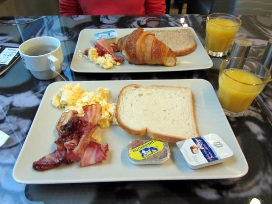 Anderlecht, Bélgica: Breakfast