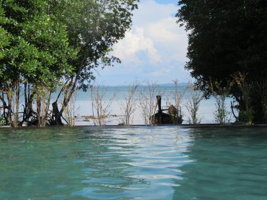 Bhu Nga Thani Resort and Spa: View from the pool