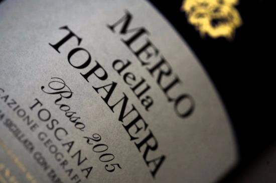 Da Baffo: The owner's own produced very rare wine
