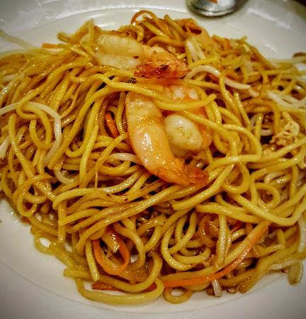Fideos con gambas fotograf a de restaurante made in china - La cocina china palma ...