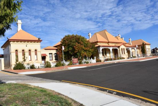 This is the old railway station in Armidale.