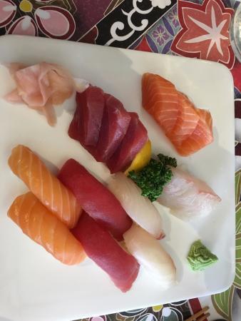 Рони-су-Буа, Франция: Sushi choice 1