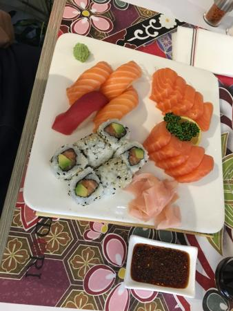 Рони-су-Буа, Франция: Sushi choice 2