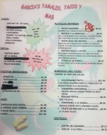 Garcia's Tamales y Tacos