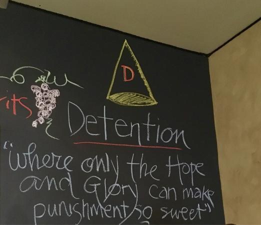 Irvington, VA: Most fun detention I've ever been in!