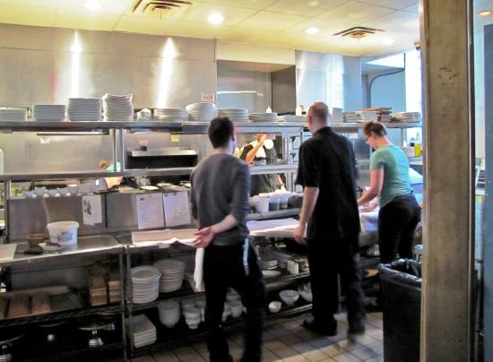 Busy Kitchen bright and busy kitchen - picture of luxe, cleveland - tripadvisor