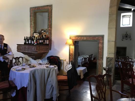 Restaurante A Capela - Convento N. Sra. do Carmo: Restaurante dentro de uma antiga capela