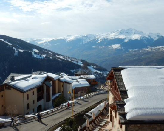 Peisey-Vallandry, Francia: View from a mountain view room
