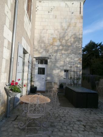 Sainte-Maure-de-Touraine, Fransa: La cour