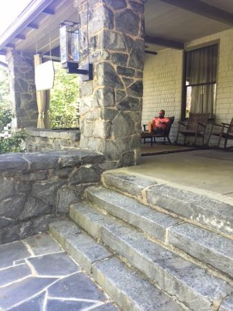 Stonehurst Place: As a southerner, loving the huge front porch