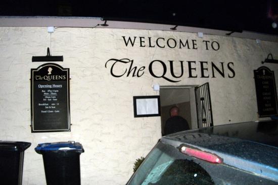 The Queens: Car park entrance