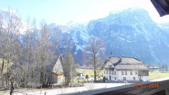 Bauernhof Schoerghof: Aussicht vom Balkon