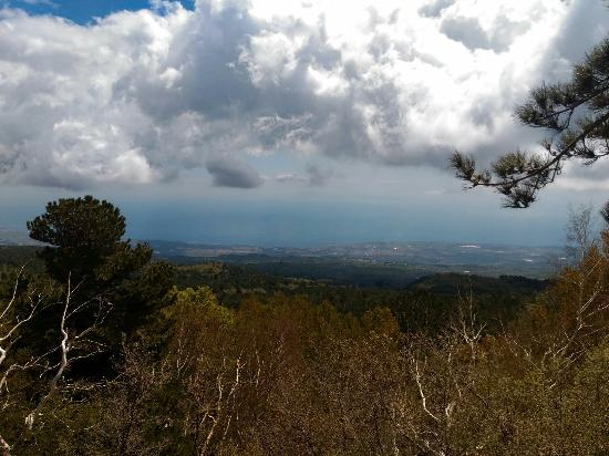 Sant'Alfio, Italien: Vista fantastica