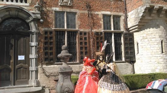 Groot-Bijgaarden, Βέλγιο: 仮装した人