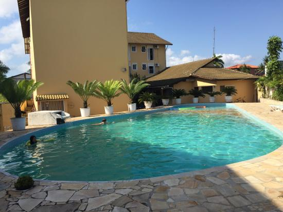Interior e piscina picture of hotel sol a sol cananeia for K sol piscinas
