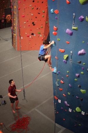 Inspire Rock Indoor Climbing Team Building Center Spring Tx