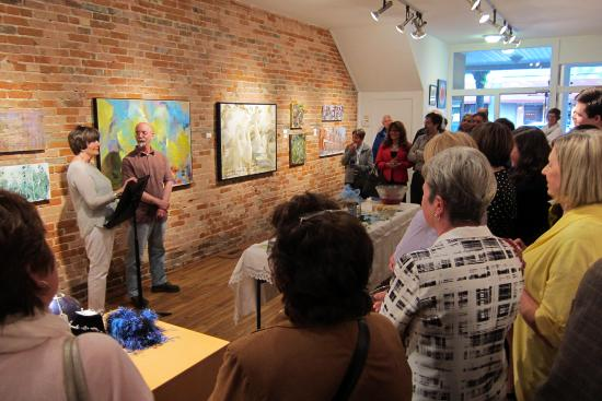 Chatham, Canada : Opening reception for Betty McGeorge, Exhibiting Member of ARTspace