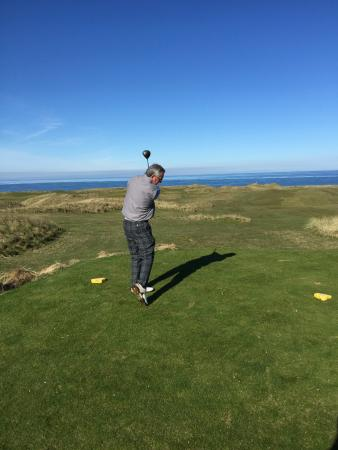 Machrihanish Dunes Golf Club : A beautiful day at Mach Dunes