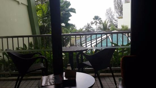 PARKROYAL Penang Resort, Malaysia: View from this room is .. :(