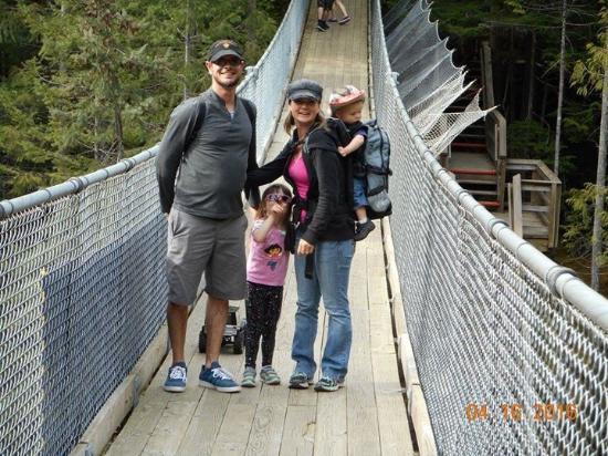 Sicamous, Canadá: Crazy creek