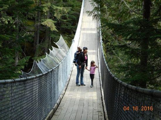 Sicamous, Kanada: Crazy creek