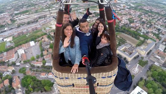 Balloon Team Italia : bellissima esperienza
