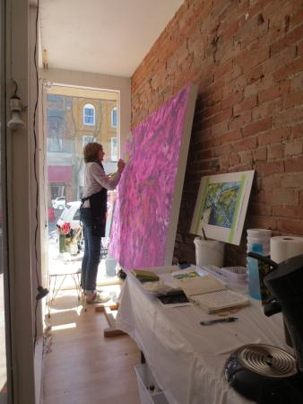Chatham, Canadá: Artist in Residence, Tracy Bultje