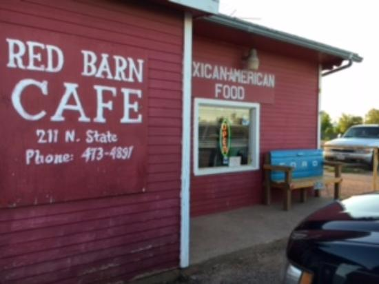 Don't miss the Red Barn in Bronte, TX!