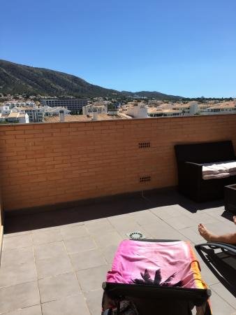 Boulevard Apartamentos Alfaz Playa Albir: Rooftop terrace