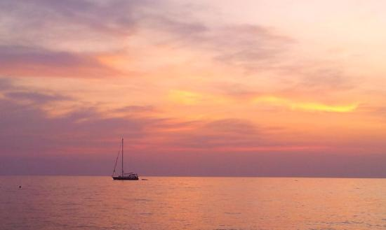 Istria, Chorwacja: Sailing near the coast