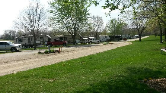 Winterset, IA: Very nice city campground