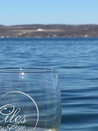 Himrod, estado de Nueva York: The lake is beautiful