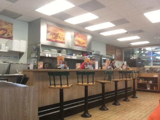 Andrews, NC: Counter seating