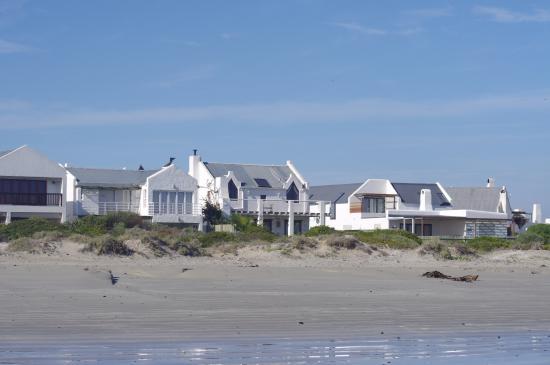 Paternoster, Afrika Selatan: Houses along the shore