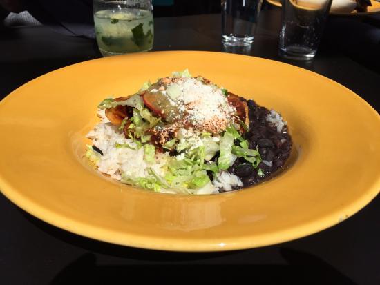 Barrio : Chicken and Carne Asada Enchiladas
