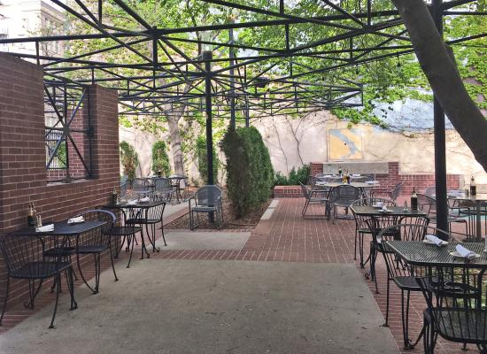 Caffe Molise Patio Dining In Warm Weather