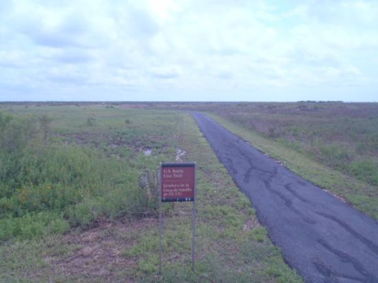 Palo Alto Battlefield National Historic Site: american border