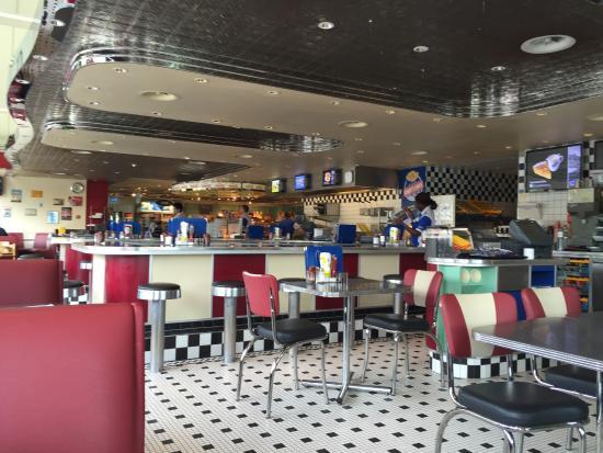 Waedenswil, สวิตเซอร์แลนด์: Cindy's Diner, Herrlisberg (Nord) - Das Lokal