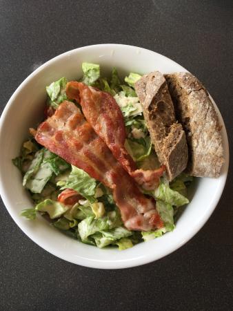 Waedenswil, สวิตเซอร์แลนด์: Cindy's Diner, Herrlisberg (Nord) - Ceasar Salad