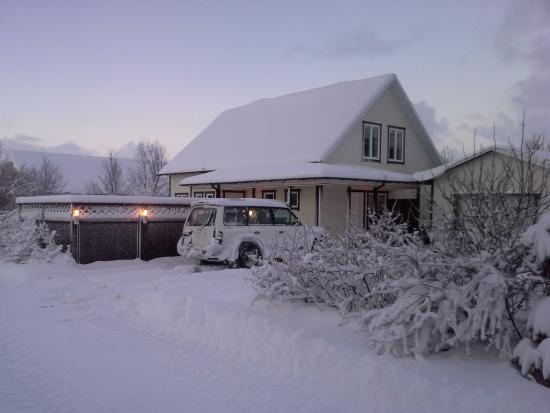 Guesthouse Nonni in the winter 2015