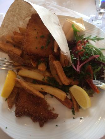 Holte, เดนมาร์ก: Skønne fish 'n' chips