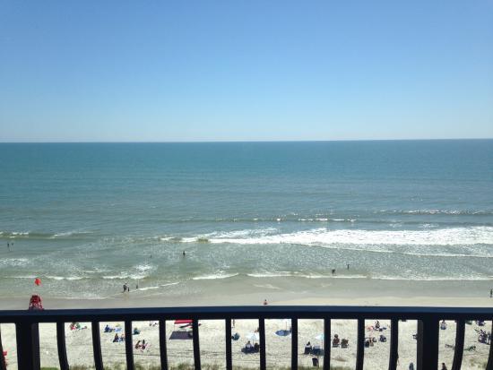 Atlantic Beach, FL: Balcony view