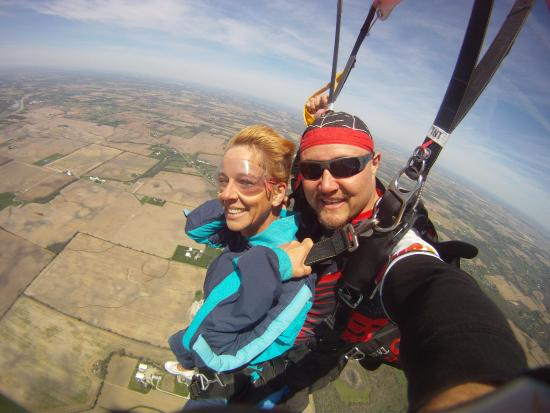 Ohio Skydiving Center Plane - Picture of Ohio Skydiving