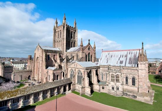 ‪Hereford Cathedral‬